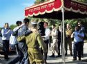 Celebration of entering the Torah to the air base synagogue